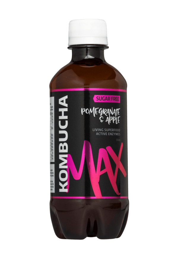 Kombucha Max Pomegranate & Apple