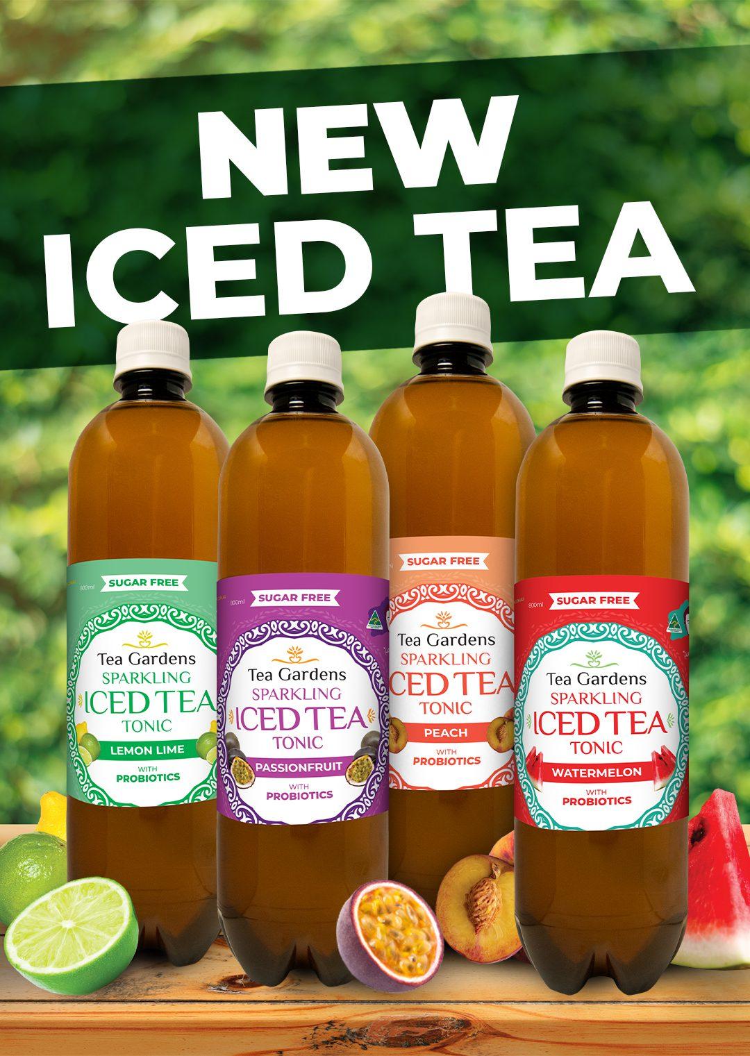 Probiotic Iced Tea