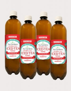 Watermelon Probiotic iced Tea Tonic
